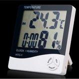 Метеостанция часы, электронный термометр HTC-2