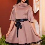 Платье G-401 с пояском от natali vmode