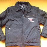 Теплющая зимняя курточка чёрного цвета
