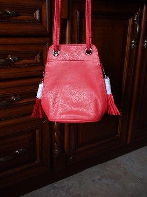 Красная сумочка из кож.зама Avon, девочкам 7-14 лет