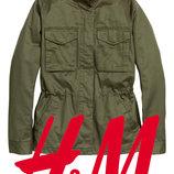 Демисезонная куртка карго для женщин S, M фирмы H&M Швеция