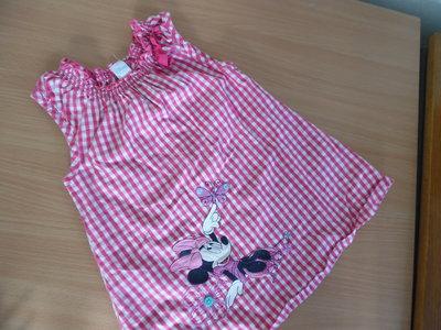 Платье девочке 12-18 мес, рост 86 см, лето Disney Дисней