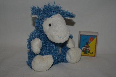 62 Альпака коза Kozie the Alpaca друг мишки тедди My blue nose friends Carte Blanche новый