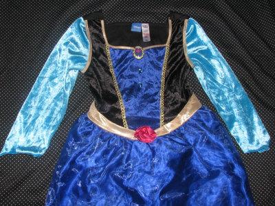 Карнавальное платье Анны Холодное Сердце.