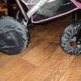 Чехлы на колеса коляски Польша