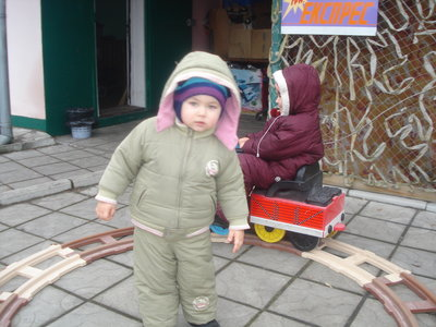 Зимний комбинезон, куртка Amadeo р.80
