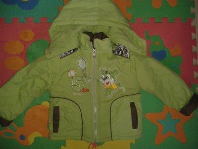 Курточка теплая на 1,5-2,5 годика.