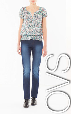 В ассортименте джинсы прямые Regular для женщин XS-M фирмы OVS Италия