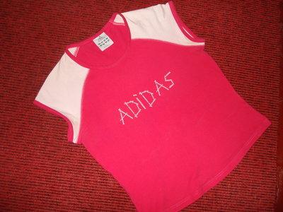 Шикарная фирменная футболка Adidas, размер 14