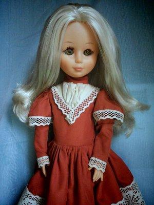 Итальянская, винтажная кукла Zanini Zambelli, 44 см