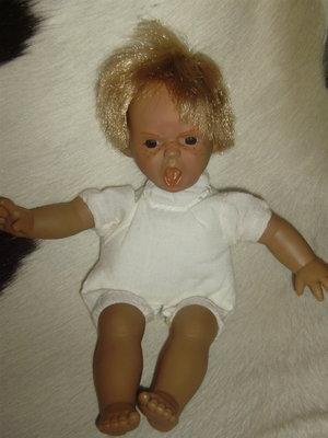 коллекционная характерная кукла малыш Panre Испания оригинал клеймо винтаж 24 см