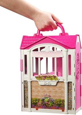 Barbie Гламурный дом Барби портативный Glam Getaway House