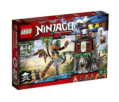 LEGO Ninjago Тигровый остров Tiger Widow Island 70604
