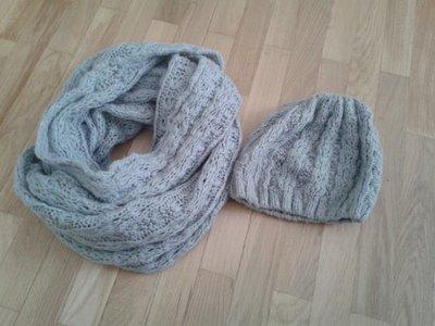 Комплект шарф шапка Эйвон