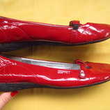 Яркие балетки туфли Esprit,отличное состояние